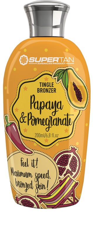 Supertan Papaya Pomegranate 200 ml