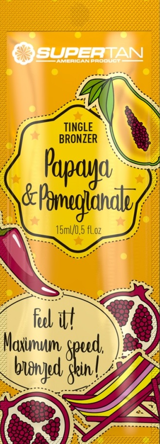 Supertan Papaya &  Pomegranate, 15ml